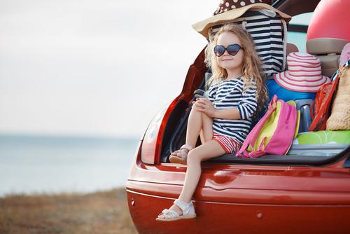 Reisen allein mit Kind